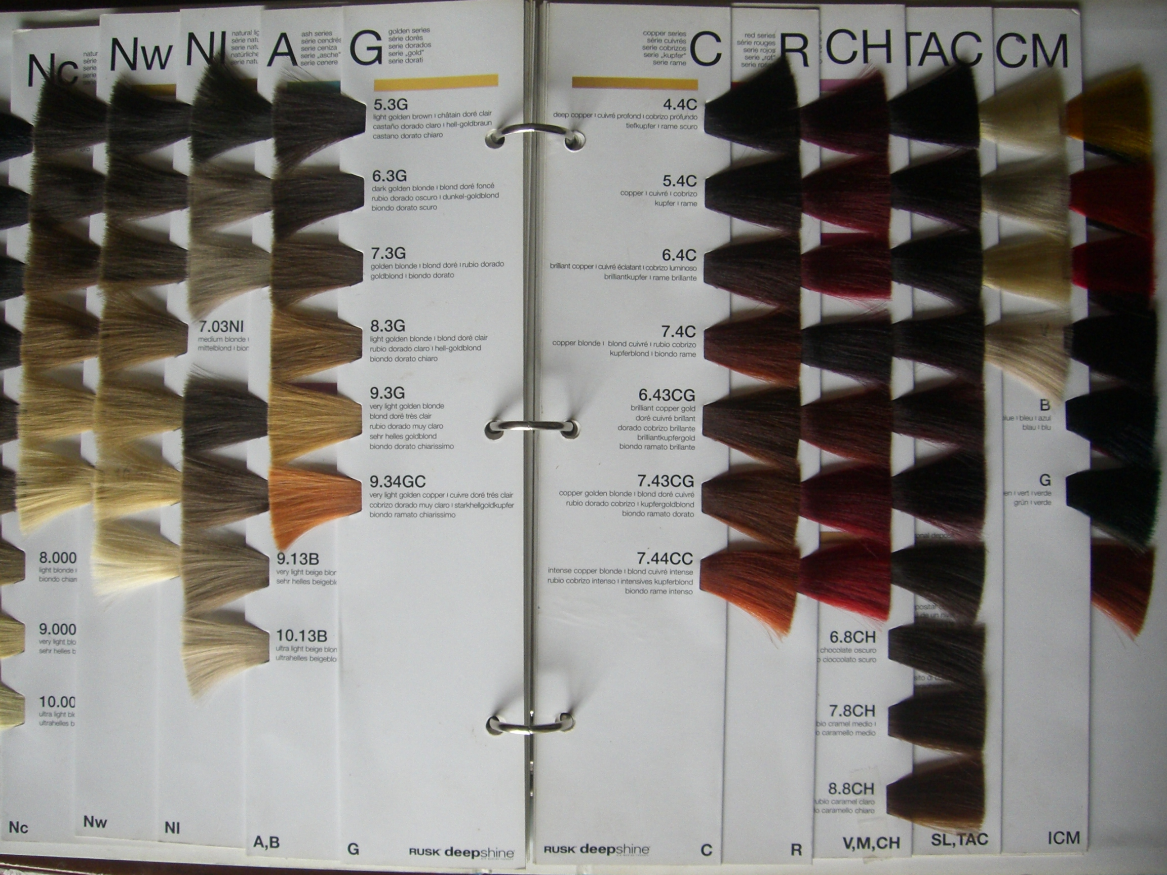 Rusk hair color swatch book coloring page redken shade eq binder hair color chart swatch book geenschuldenfo Images